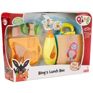BING Playset Case LUNCH BOX Real WOOD Original Fisher Price DYN68