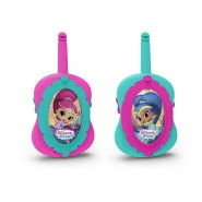 SHIMMER and SHINE Coppia 2 WALKIE TALKIE Radioline Ricetrasmettitori ORIGINALI Imc Toys
