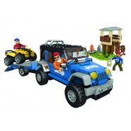 Building Playset JEEP FOREST EXPEDITION 344 pieces MEGA BLOCKS 97806