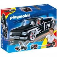 Playset PICK UP 76 Camioncino Nero Click and Go PLAYMOBIL 4340