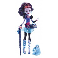 Monster High JANE BOOLITTLE Doll Figure 27cm Mattel BLV97 and accessories