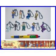 RARO Set Completo 9 Mini Figure YU-GI-OH Portachiavi Originali Giochi Dolci Preziosi