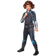 COSTUME Carnival BLACK WIDOW Size Large 8/10 years Baby girl RUBIE'S Rubies MARVEL Avengers 2 Age Of Ultron