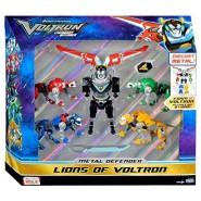 VOLTRON Figura Robot 5 LEONI Die Cast METAL LEGENDARY DEFENDER Grande 20cm Giochi Preziosi