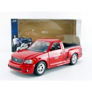 FAST FURIOUS DieCast Model Brian's Ford F-150 SVT LIGHTNING 20cm (7.8'')  Red Scale 1/24 Original JADA Toys