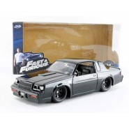 FAST FURIOUS Modello DieCast BUICK GRAND NATIONAL 20cm Nera di DOM Scala 1/24 Originale JADA Toys
