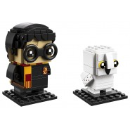HARRY e EDVIGE Civetta HEDWIG Brick Heads Costruzioni LEGO Harry Potter 41615