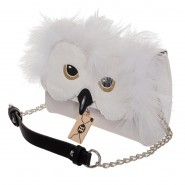 HARRY POTTER 2 in 1 Crossbody / Clutch HEDWIG Snowy Owl Bag 18x14x7cm ORIGINAL Bioworld