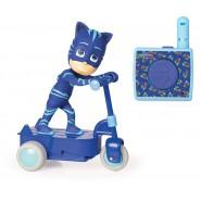 Model CATBOY'S SCOOTER 20cm Radiocontrolled R/C PJ MASKS ORIGINAL Imc Toys