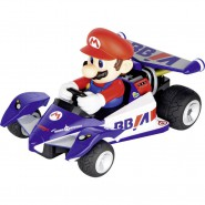 Model Go Kart MARIO 25cm Super Mario Radiocontrolled R/C NINTENDO ORIGINAL Carrera 1:18