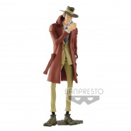 Figure Statue Inspector ZENIGATA with CIGARETTE 26cm Serie MASTER STARS PIECE III 3 Part 5 Original Lupin III Third BANPRESTO