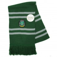 SLYTHERIN SCARF Harry Potter ORIGINAL and OFFICIAL Warner Bros SERPENTARD Draco Malfoy