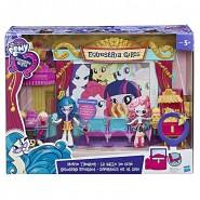 SALA CINEMA Mini Pony Equestria Girls Alloggiamento per Tablet Juniper Montage Little Pony Hasbro C0409EU4