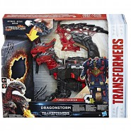 DRAGONSTORM Robot Figure 30cm TRANSFORMERS Lights Sounds Serie TURBO CHANGER Hasbro C0934