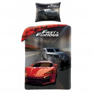 BED SET Duvet Cover  FAST AND FURIOUS Official 140x200 COTTON