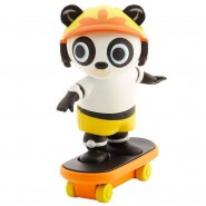 BING Cartone Rai YoYo BOX Figura PANDO CON SKATEBOARD Originale Fisher Price