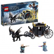 GRINDELWALD's ESCAPE Building Playset LEGO Harry Potter 75950