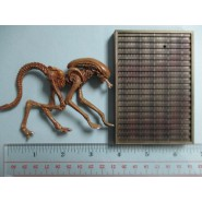 RARE Trading Figure DOG ALIEN 1979 Serie ALIEN VOLUME 1 KONAMI JAPAN