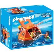 Playset COASTGUARD LIFE RAFT Original PLAYMOBIL 5545 City Action