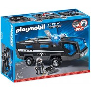 Playset POLICE TACTICAL UNIT COMMAND VEHICLE Original PLAYMOBIL 5564 City Action