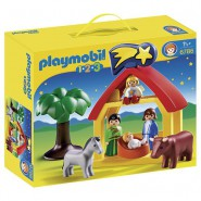Playset CHRISTMAS MANGER Crib PLAYMOBIL 6786 1-2-3