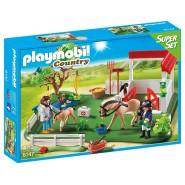 Playset HORSE PADDOCK SUPER SET Original PLAYMOBIL  6147 Country
