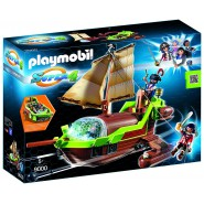 Playset CHAMELEON PIRATE SHIP with RUBY Original PLAYMOBIL 9000 Super 4 Pirates