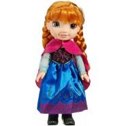 Figura Bambola ANNA Toddler Doll 35cm da FROZEN Primo FILM Regno Di Ghiaccio Originale DISNEY Jakks Pacific