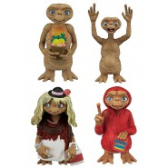 E.T. Extra-Terrestrial 4 Different Figures 6cm ORIGINAL Gashapon TOMY Japan