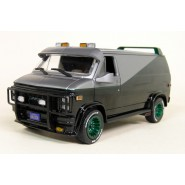 A-TEAM DieCast Model Car 18cm Van GMC VANDURA GREEN WHEELS 1983 Scale 1/24 ORIGINAL Greenlight