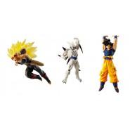 DRAGONBALL SUPER Set 3 FIGURES Versus Battle Figures SERIES 08 Bandai Gashapon