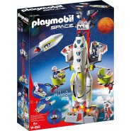 Playset Mission Rocket with Launch Site Mars Mission PLAYMOBIL 9488 SPACE