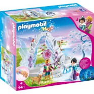 Playset Crystal Gate to the Winter World PLAYMOBIL 9471 MAGIC