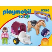 Playset Carrozza con Cavallo Originale PLAYMOBIL 9390 1.2.3
