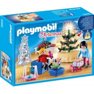Playset Christmas Living Room PLAYMOBIL 9495 CHRISTMAS
