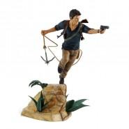 NATHAN DRAKE Figura Statua Collezione da UNCHARTED 4 Originale UFFICIALE Gaya