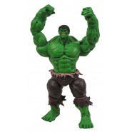 FIGURA HULK VERDE Normale 24cm Originale MARVEL SELECT ACTION Figure NUOVA Green Normal Edizione Speciale