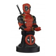 DEADPOOL Figure 22cm PHONE & Controller HOLDER - Micro USB cable included - Cable Guys