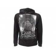 GAME OF THRONES Hooded Sweatshirt with IRON THRONE Top Quality OFFICIAL License HBO