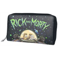 WALLET RICK And MORTY Space Cruiser Coin Pocket 20cm Original Official