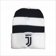 Winter HAT BLACK AND WHITE Original JUVENTUS New Logo JJ Official