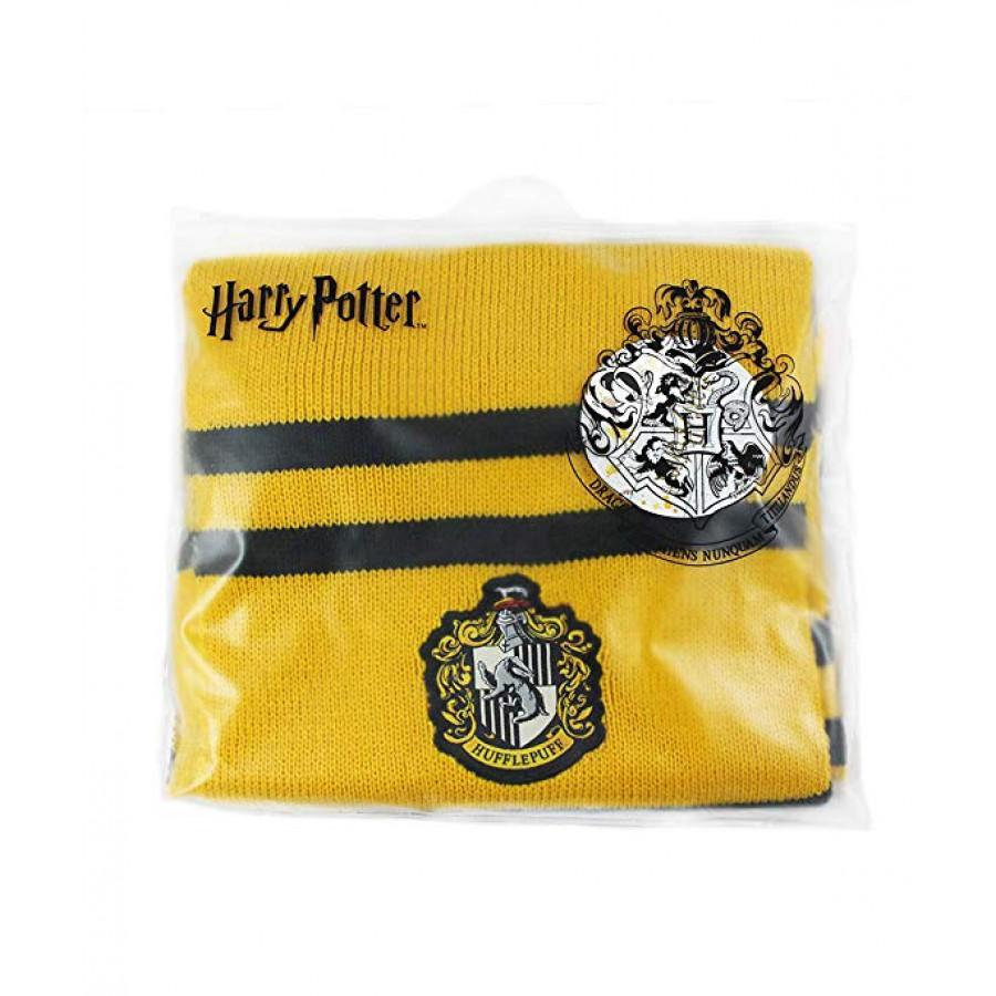 Harry Potter Scarf Hufflepuff Version Yellow Original Official Warner Bros
