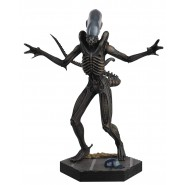 XENOMORPH Rare Figure Metallic Resin from Alien 14cm Scala 1/16 Serie Eaglemoss HERO Collector Num 1