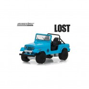 LOST Model DieCast 1977 JEEP CJ-7 DHARMA Scale 1/64 ORIGINAL Greenlight