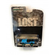 LOST Model DieCast 1977 JEEP CJ-7 DHARMA Scale 1/64 ORIGINAL Greenlight Series 21 Special Version GREEN WHEELS