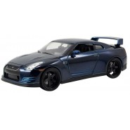 FAST and FURIOUS Model BRIAN's NISSAN GT-R R35 Dark Blue 1/24 Original JADA