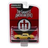 THE GREATEST AMERICAN HERO DieCast Model 1978 DODGE MONACO Scale 1/64 ORIGINAL Greenlight Series 21