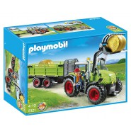 Playset Tractor with Trailer and Accessories PLAYMOBIL Country 5121