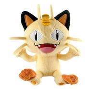 POKEMON MEOWTH Plush 18cm (7'') ORIGINAL Tomy