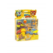 SUPERZINGS Blister Box 2 FIGURES 2 Vehicles Mission Bakery Blast ORIGINAL Super Zings SZSP0200